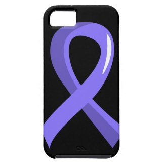 Esophageal Cancer Periwinkle Ribbon 3 iPhone SE/5/5s Case