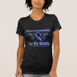 Esophageal Cancer Periwinkle Ribbon Daddy T-shirt
