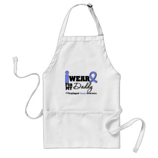 Esophageal Cancer Periwinkle Ribbon For My Daddy Adult Apron