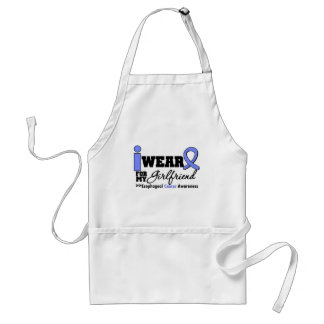 Esophageal Cancer Periwinkle Ribbon For My Girlfri Adult Apron