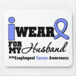 Esophageal Cancer Periwinkle Ribbon For My Husband Mouse Pad