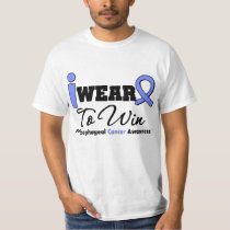 Esophageal Cancer Periwinkle Ribbon To Win Tee Shirt