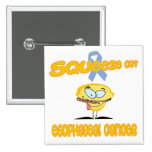 Esophageal Cancer Pinback Buttons