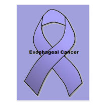 Esophageal Cancer Postcard