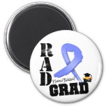 Esophageal Cancer Radiation Therapy RAD Grad Fridge Magnet