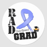 Esophageal Cancer Radiation Therapy RAD Grad Stickers