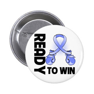 Esophageal Cancer Ready To Win 2 Inch Round Button