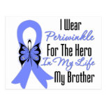 Esophageal Cancer Ribbon Hero My Brother Postcard