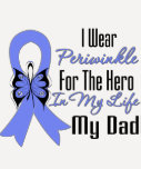 Esophageal Cancer Ribbon Hero My Dad Shirt