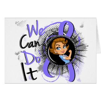 Esophageal Cancer Rosie Cartoon WCDI.png Greeting Card
