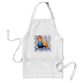 Esophageal Cancer  Rosie WE CAN DO IT Adult Apron
