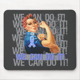 Esophageal Cancer  Rosie WE CAN DO IT Mouse Pad