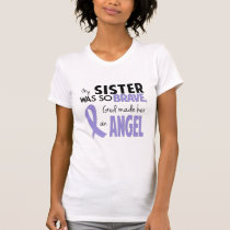 Esophageal Cancer Sister Womens T-Shirt