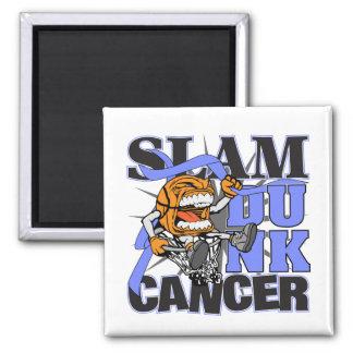 Esophageal Cancer - Slam Dunk Cancer Refrigerator Magnets