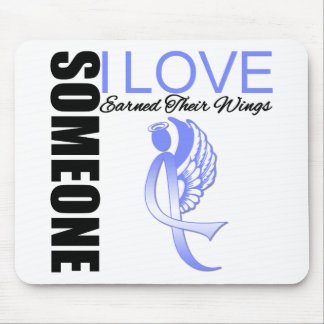 Esophageal Cancer Someone I Love Earned Wings Mousepad
