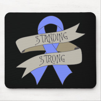 Esophageal Cancer Standing Strong Mouse Pad