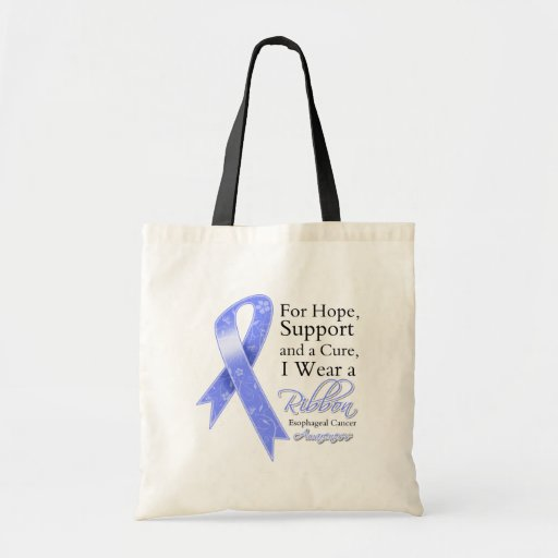 Esophageal Cancer Support Hope Awareness Bags