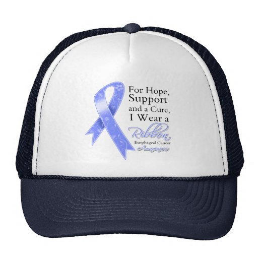 Esophageal Cancer Support Hope Awareness Trucker Hats