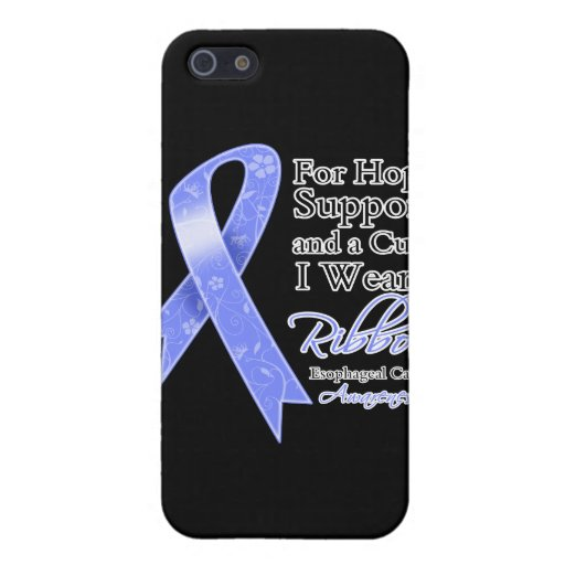 Esophageal Cancer Support Hope Awareness Cover For iPhone 5