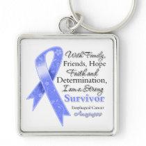 Esophageal Cancer Support Strong Survivor Keychains