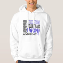 Esophageal Cancer Survivor 4 Hoodie