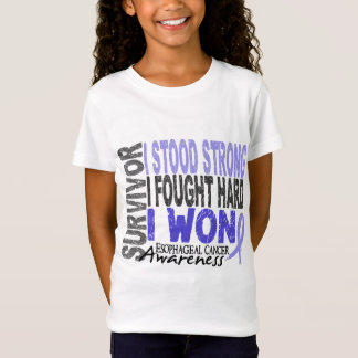 Esophageal Cancer Survivor 4 T-Shirt