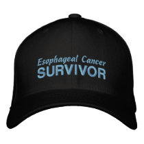Esophageal Cancer Survivor Embroidered Baseball Cap