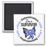 Esophageal Cancer Survivor Hope Determination Magnet