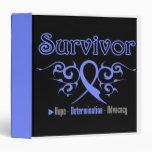 Esophageal Cancer Survivor Tribal Medical Binder