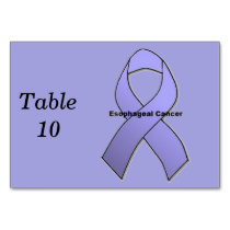 Esophageal Cancer Table Number