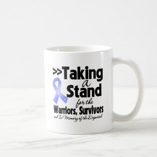 Esophageal Cancer Taking a Stand Tribute Classic White Coffee Mug