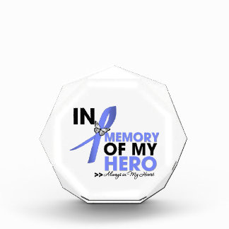 Esophageal Cancer Tribute In Memory of My Hero Awards