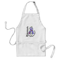 Esophageal Cancer Warrior 15 Adult Apron
