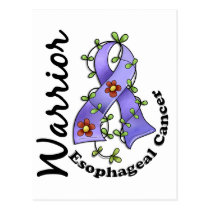 Esophageal Cancer Warrior 15 Postcard