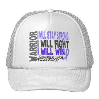 Esophageal Cancer Warrior Hat