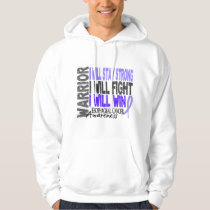Esophageal Cancer Warrior Hoodie