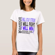 Esophageal Cancer Warrior T-Shirt