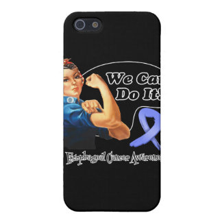 Esophageal Cancer We Can Do It Rosie The Riveter iPhone 5 Cases