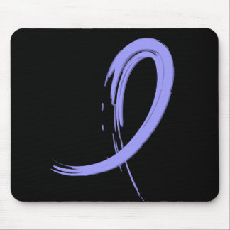 Esophageal Cancer's Periwinkle Ribbon A4 Mouse Pad