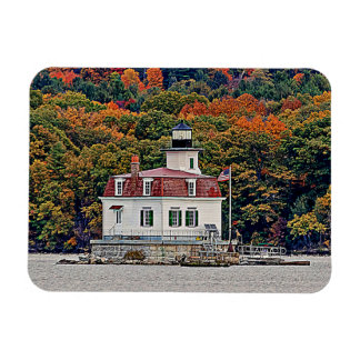 Esopus Meadows Lighthouse Rectangular Photo Magnet