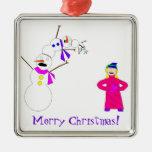 Esos muñecos de nieve pobres pobres… ornamentos de navidad