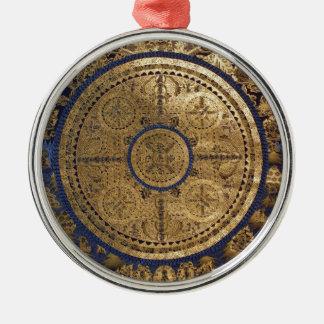 ESOTERIC GOLDEN THANGKA ART METAL ORNAMENT