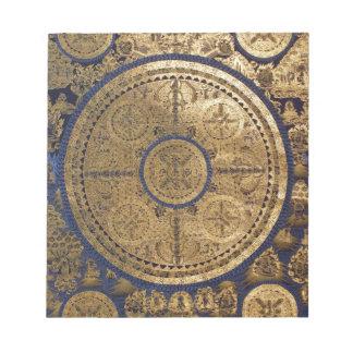 ESOTERIC GOLDEN THANGKA ART NOTEPAD