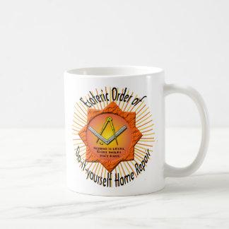 esoteric order of do-it-yourself home repair coffee mug