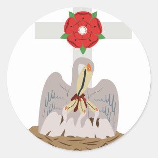 Esoteric Pelican Classic Round Sticker