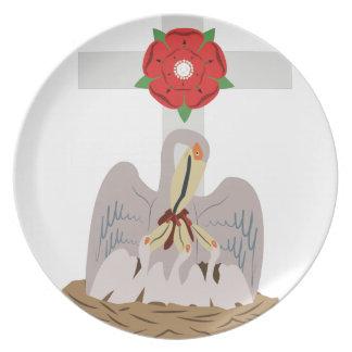 Esoteric Pelican Melamine Plate