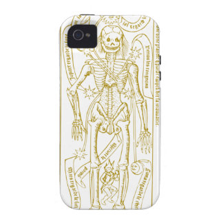 Esoteric skeleton vibe iPhone 4 cover