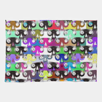 Esoteric Skull (Colour) Kitchen Towels