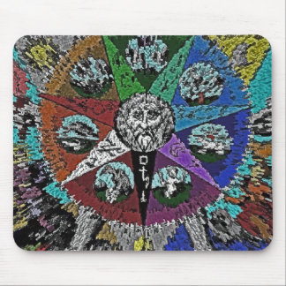 ESOTERIC STAR MOUSE PAD