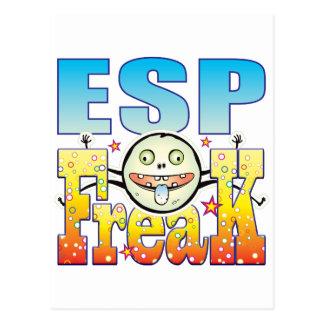 ESP Freaky Freak Postcard
